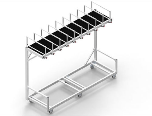 Packing Station Cart