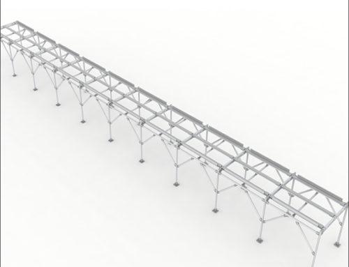 Sectional Conveyor, 10 meter