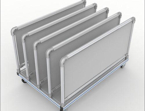 Panel Holder Cart